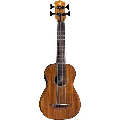 Luna Guitars Bari-Bass Koa Acoustic-Electric Ukulele Satin Natural