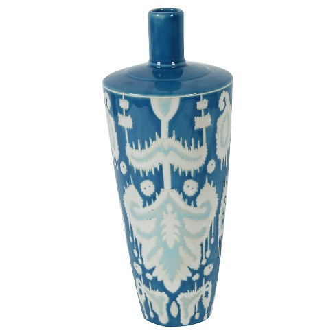 "A&B Home Decorative Vase - Blue(15.3"") - image 1 of 1"
