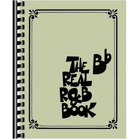 Hal Leonard The Real R&B Book (B-Flat Instruments) Fake Book - image 1 of 1