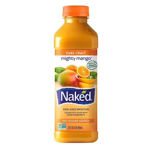 Naked Mighty Mango All Natural Fruit Juice Smoothie - 32oz - image 1 of 1
