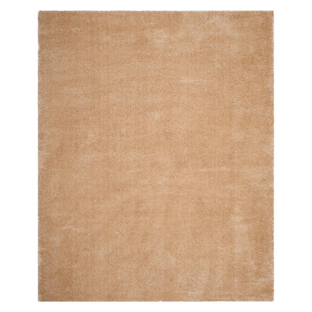 8'X10' Solid Loomed Area Rug Champagne (Beige) - Safavieh