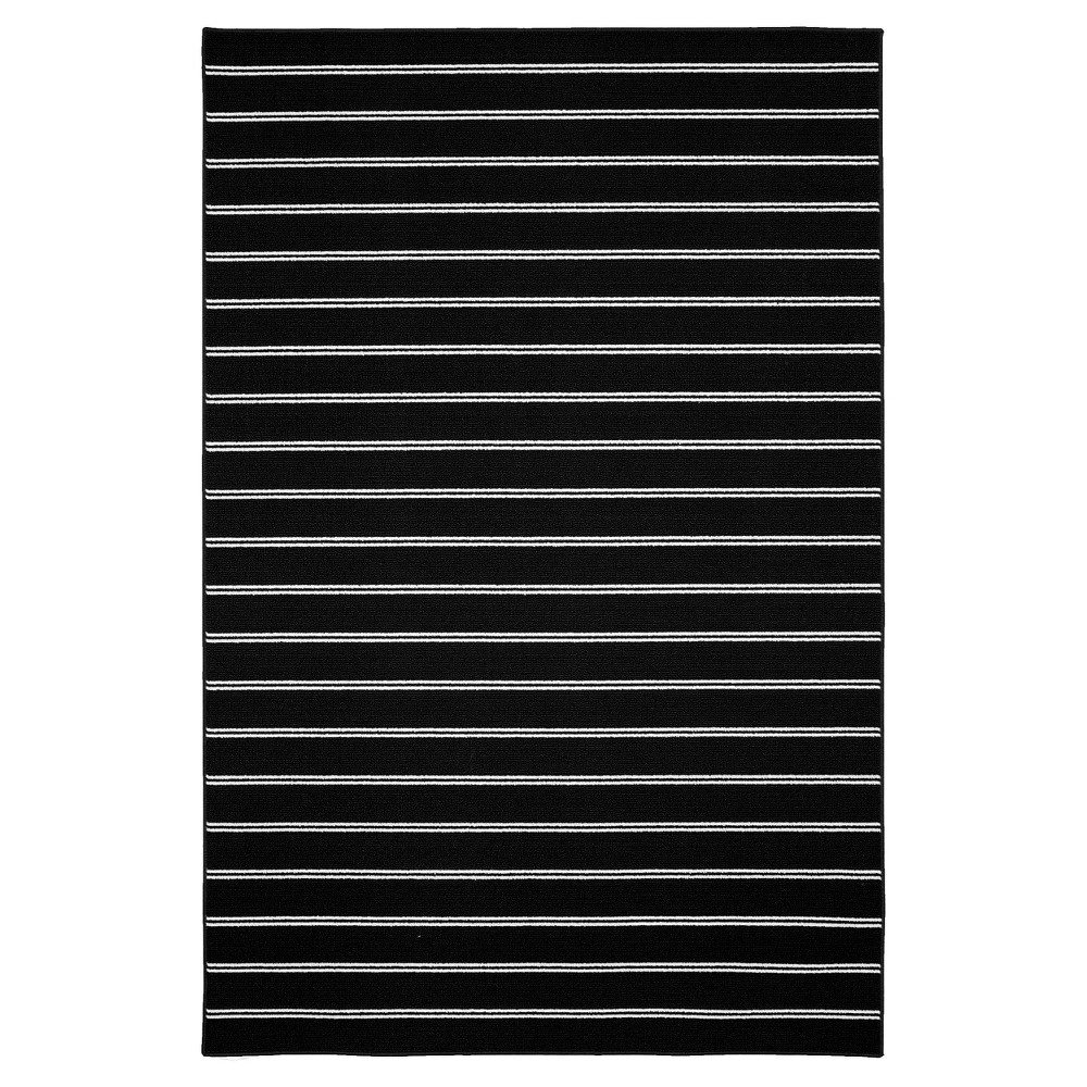 Garland Avery Area Rug - Black (5'X7'5)