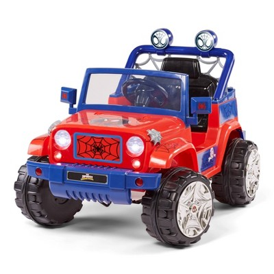 KidTrax 6V Spidey and His Amazing Friends 4x4 Powered Ride-On
