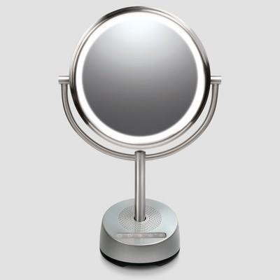Sharper Image Makeup Mirror.Vanity Mirror Silver Sharper Image Brickseek