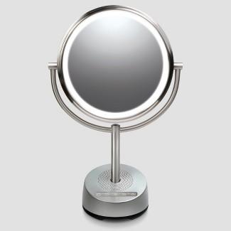 Vanity Mirror Silver - Sharper Image