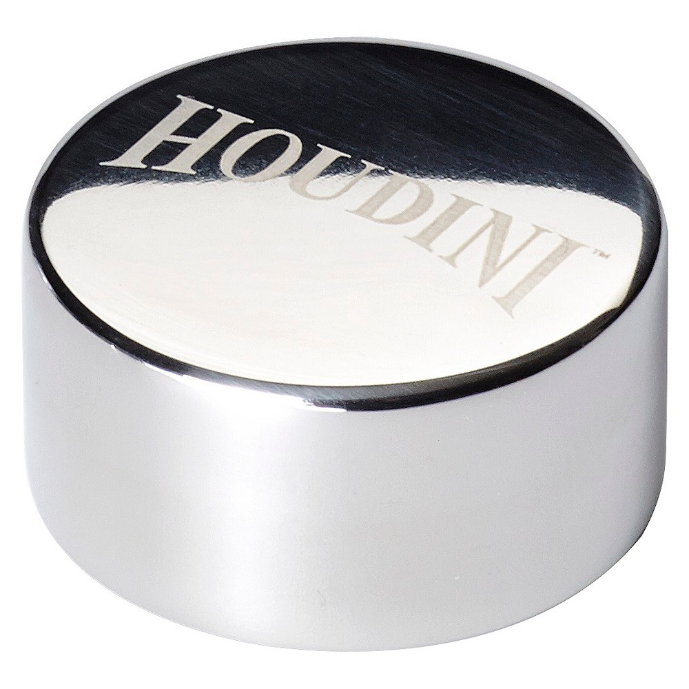 Houdini Deluxe Stainless Steel Freezable Whiskey Pucks, Silver