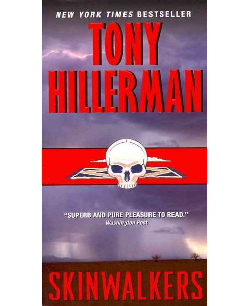 Skinwalkers -  Reissue by Tony Hillerman (Paperback) - image 1 of 1