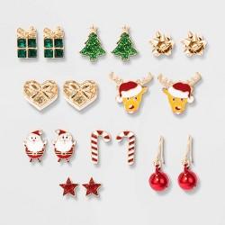 Girls' Christmas Earrings Pack - Cat & Jack™