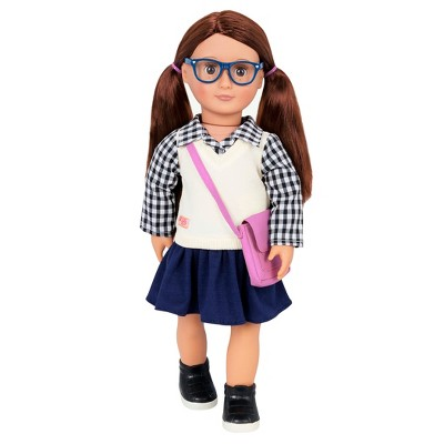 """Our Generation 18"""" School Doll - Adria"""