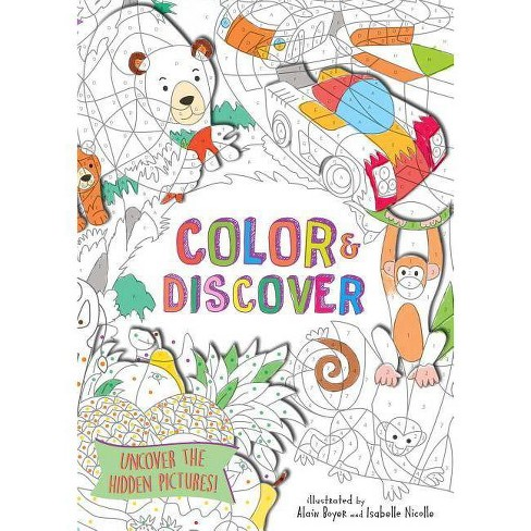 Color & Discover - (Paperback) - image 1 of 1