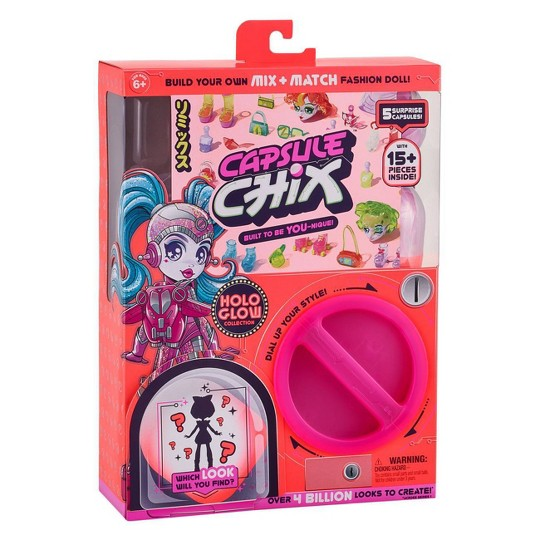 Capsule Chix S2 Single Pack - Hologlow Collection image number null