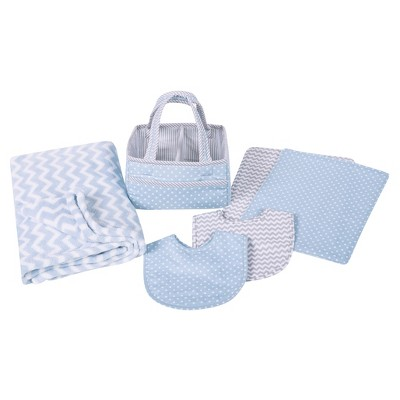 Trend Lab Baby Care Gift Set - Blue Sky 6pc