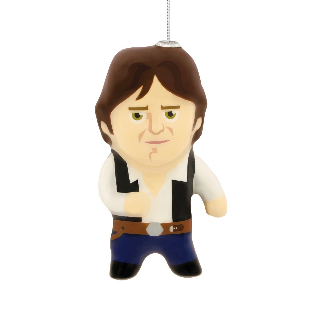 Image of Hallmark Star Wars Han Solo Decoupage Christmas Ornament, Multi-Colored
