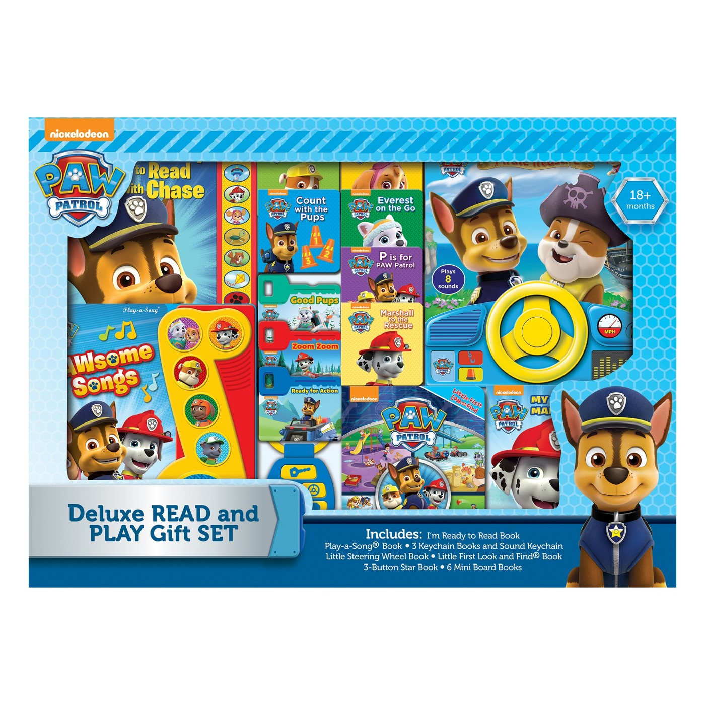Nickelodeon PAW Patrol Deluxe Read and Play Gift Set - image 1 of 3