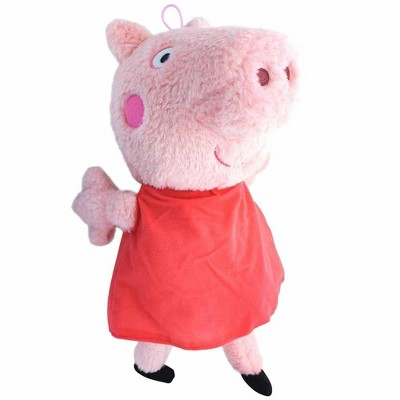 Fiesta Peppa Pig In Red Dress 17.5 Inch Character Plush