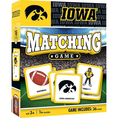 NCAA Iowa Hawkeyes Matching Game - image 1 of 2