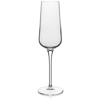 Luigi Bormioli Intenso Crystal 8.25 Ounce Wine Flute, Set of 4