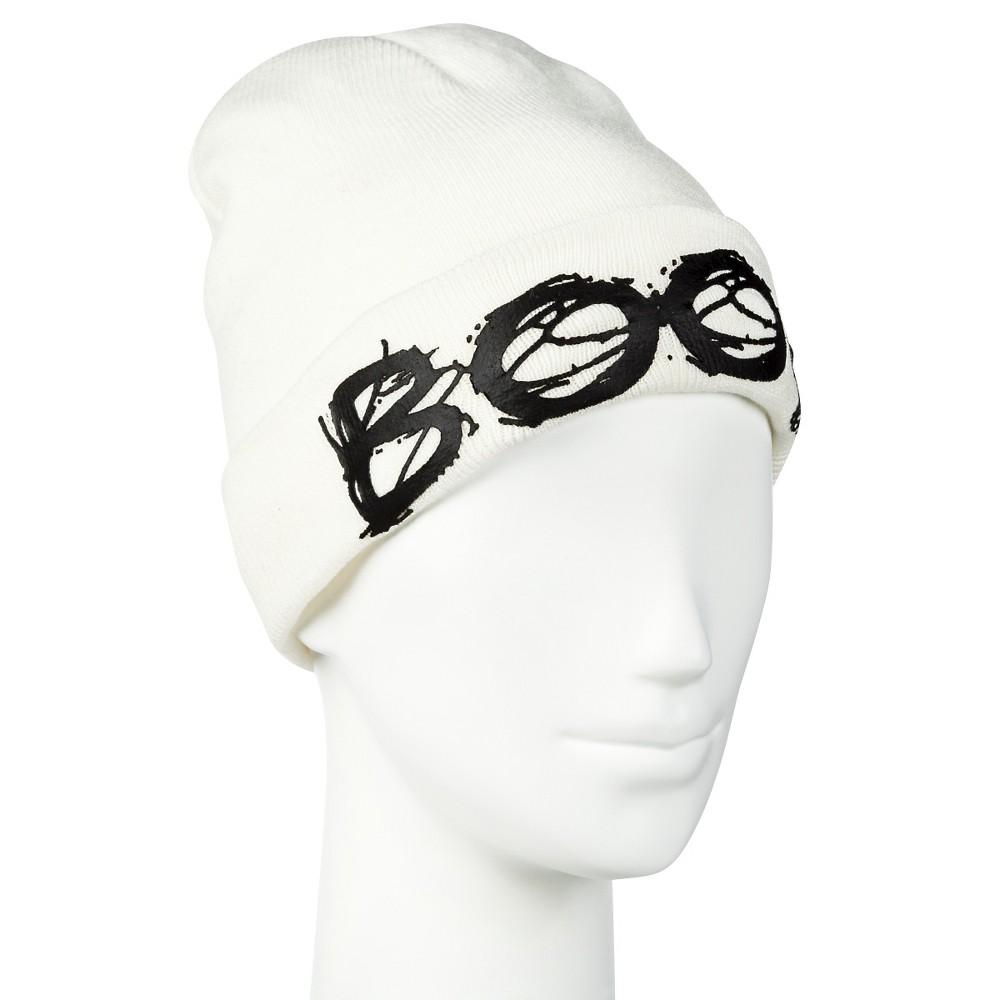 Women's Halloween Boo Hat White - Manhattan Hat Co.