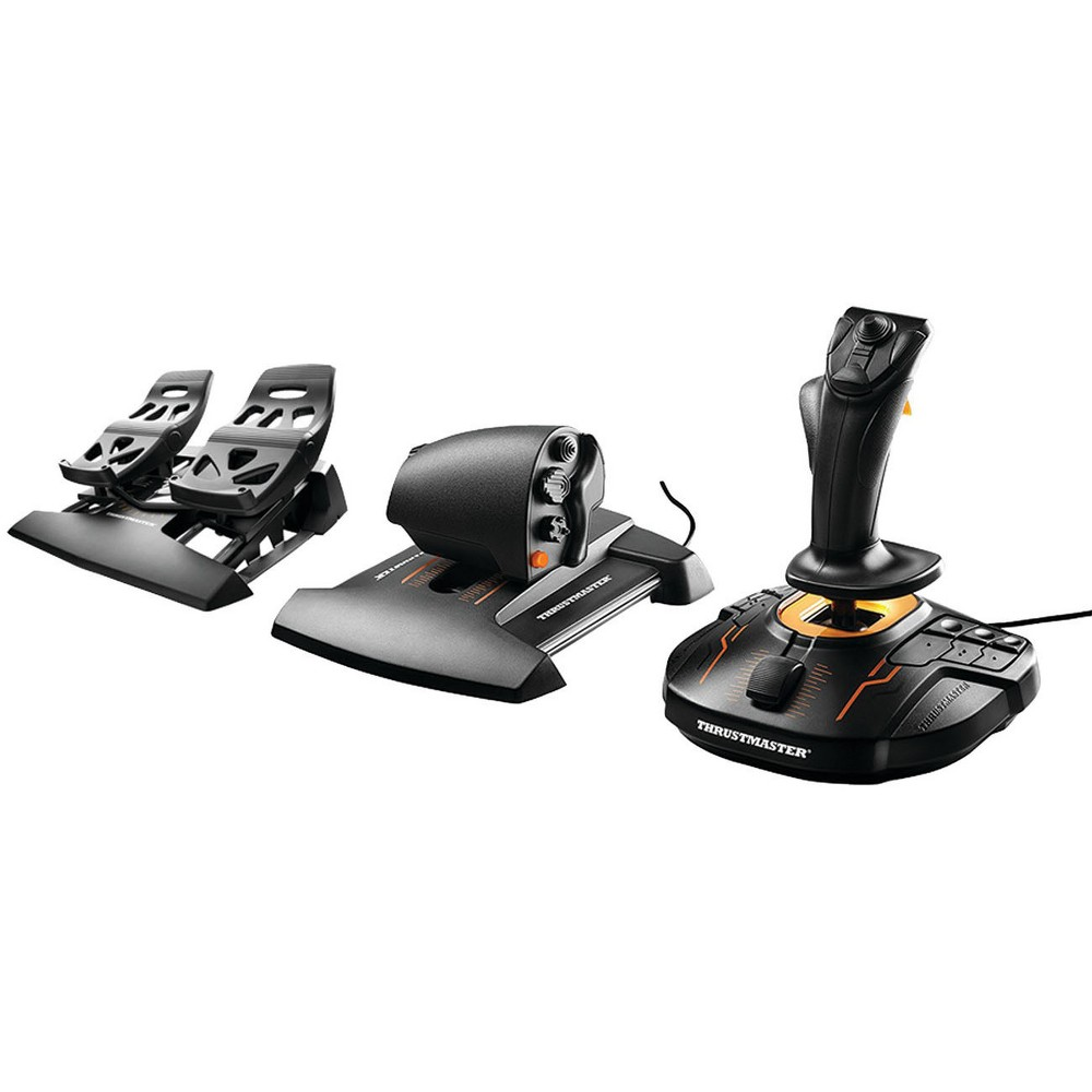 Thrustmaster T-16000M Fcs Flight Pack for PC, Black