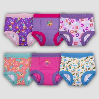 Toddler Girls' CoComelon 6pk Training Underwear