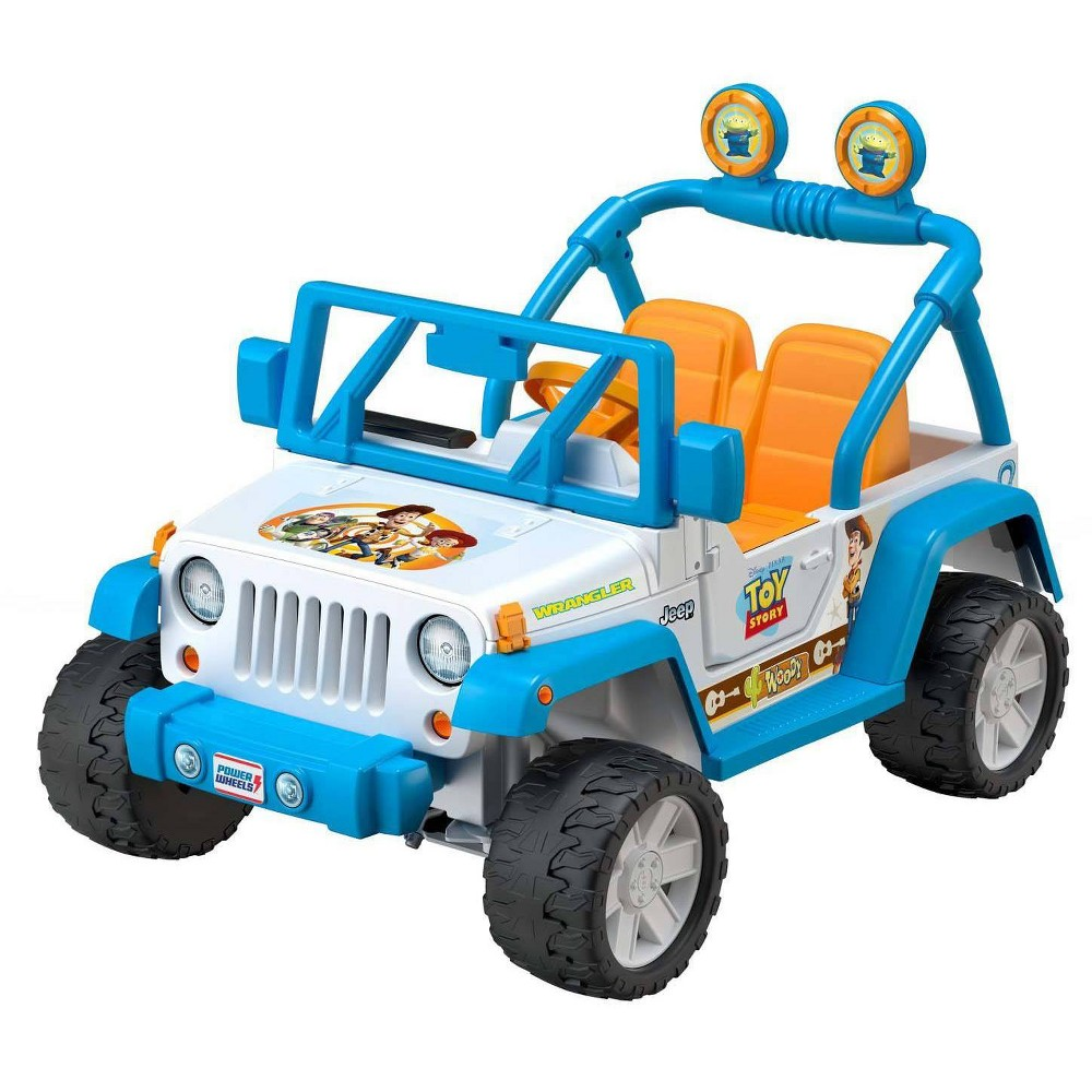 Power Wheels Disney Pixar Toy Story Jeep Wrangler