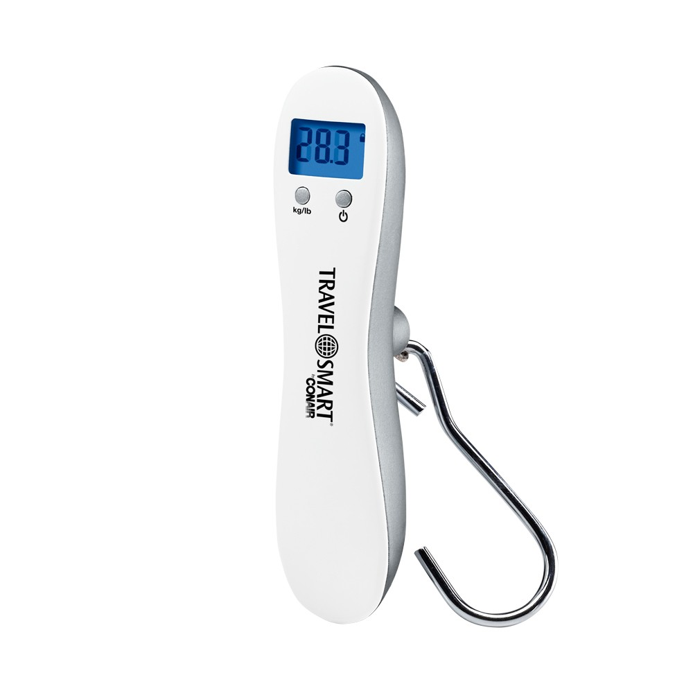 Image of Travel Smart Luggage Scale Digital, White Silver