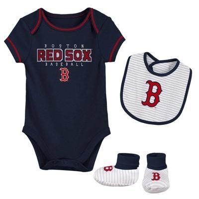 MLB Boston Red Sox Baby Boys' Short Sleeve Layette Set