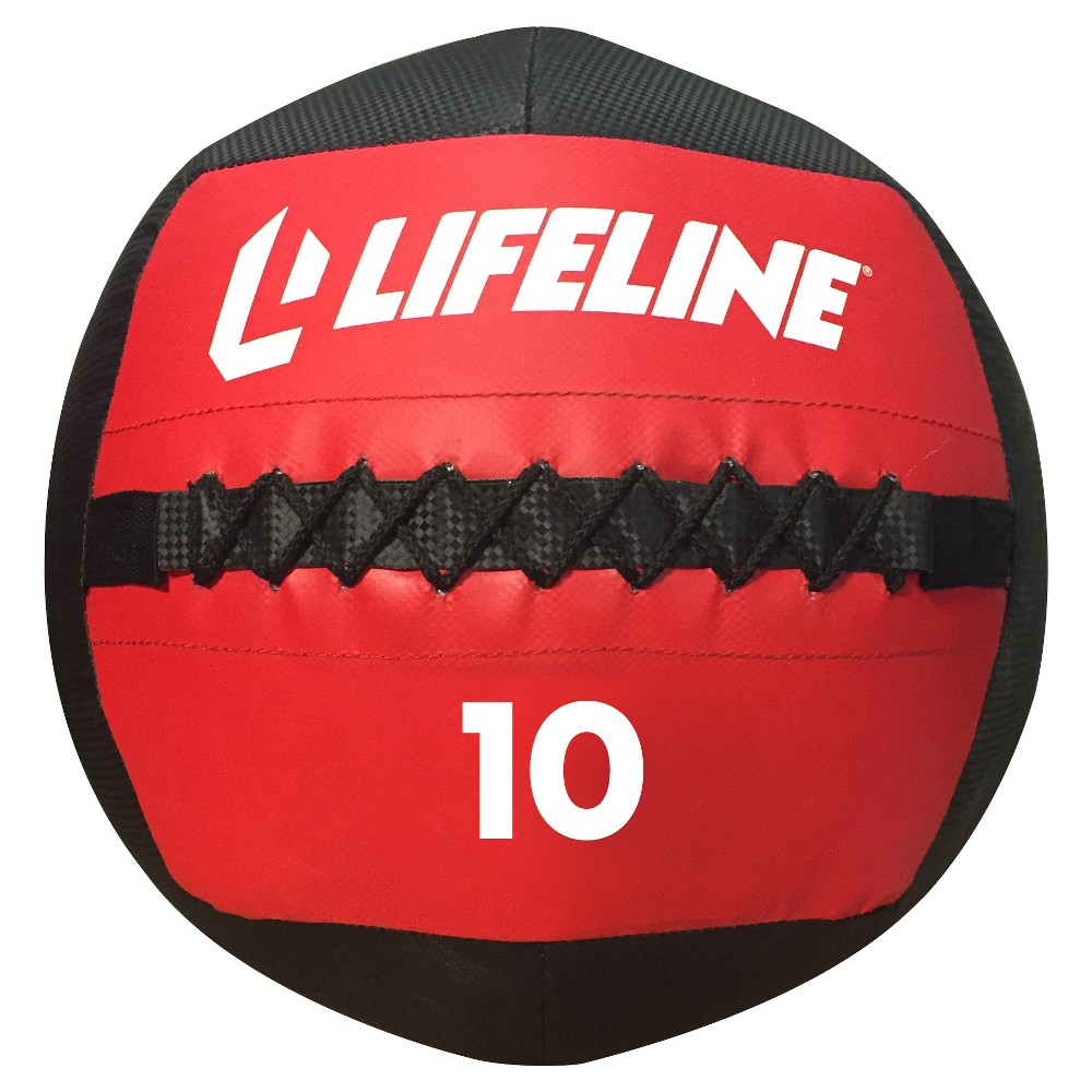 Lifeline Wall Ball - 10lbs, Multi-Colored