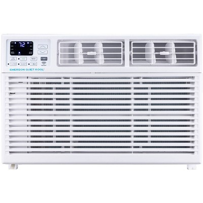 Emerson Quiet Kool SMART 15,000 BTU 115V Window Air Conditioner EARC15RSE1 with Remote Wi-Fi and Voice Control