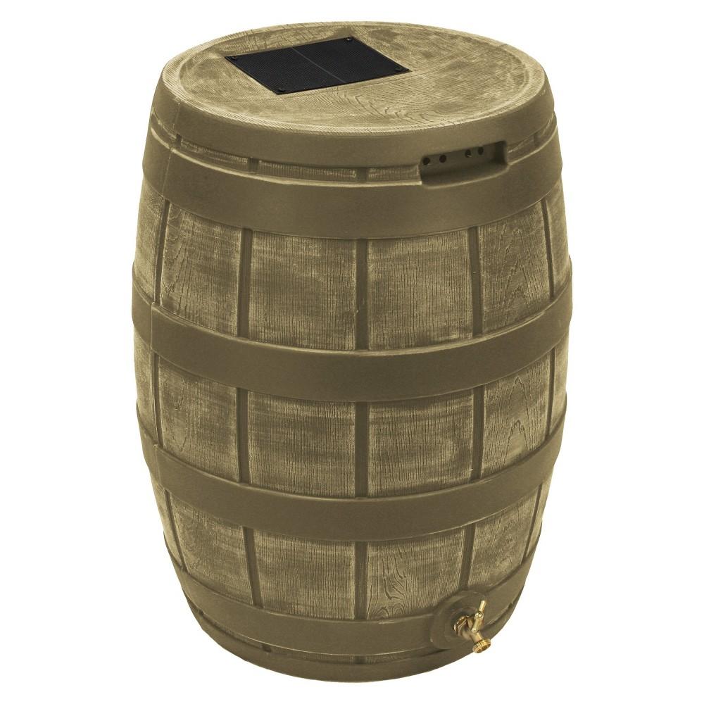 Rain Vault 50 Gallon Darkened Ribs - Khaki (Green) - Good Ideas