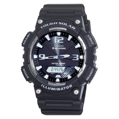 Men's Casio Solar Sport Watch - Black (AQS810W-1AVCF) - image 1 of 1