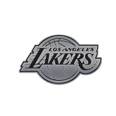 0d234b555e28 NBA Los Angeles Lakers Chrome Auto Badge   Target