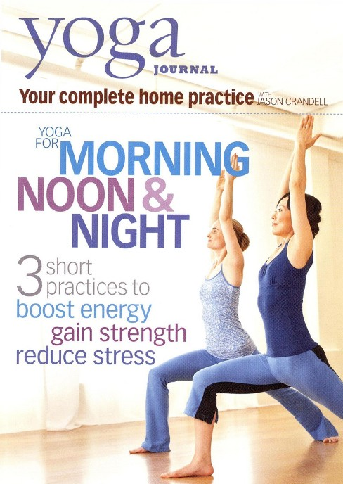 Yoga journal:Yoga for morning noon (DVD) - image 1 of 1