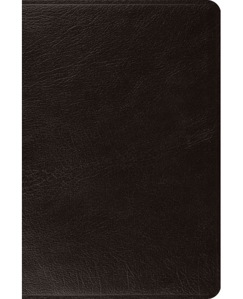 Holy Bible : English Standard Version Black Top Grain Leather (Hardcover) - image 1 of 1