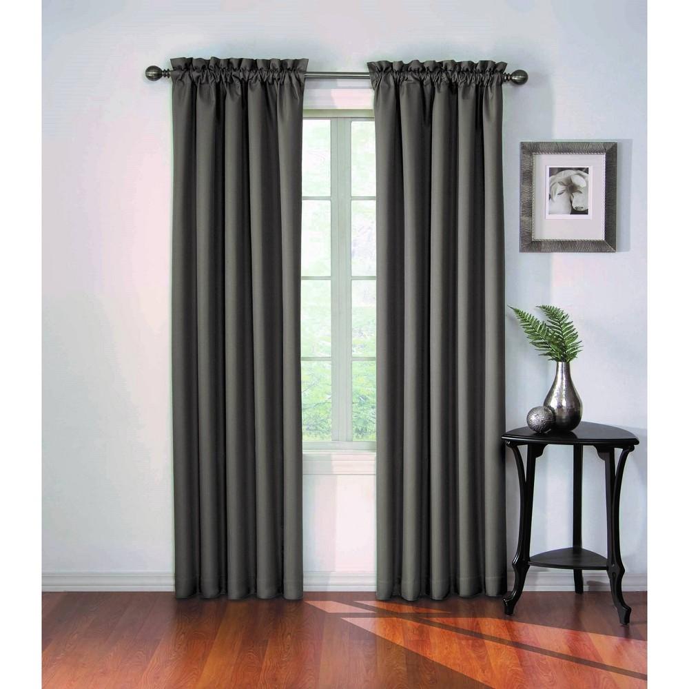 84 34 X42 34 Corinne Blackout Curtain Panel Gray Eclipse
