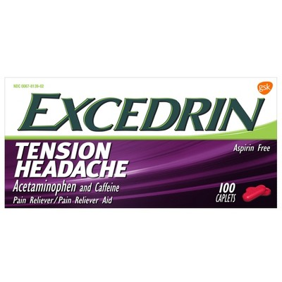 Pain Relievers: Excedrin Tension Headache