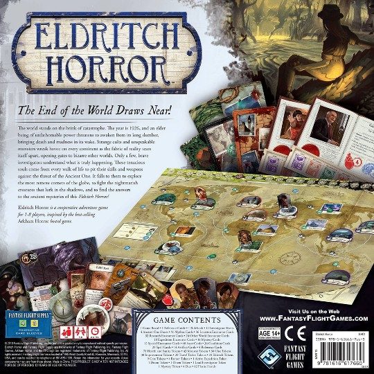 Fantasy Flight Games Eldritch Horror Board Game image number null