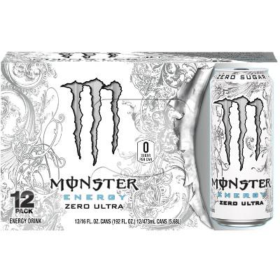 Monster Energy Zero Ultra - 12pk/16 fl oz Cans