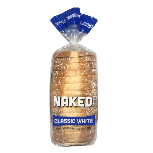 Naked Bread Classic White Sandwich Bread - 22.5oz - image 1 of 4