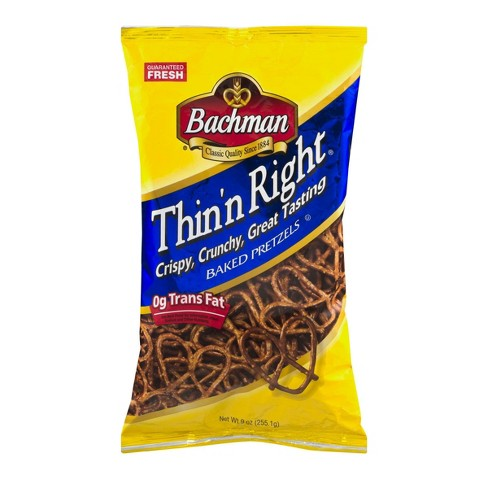 Bachman Thin'n Right Pretzels - 9oz - image 1 of 3