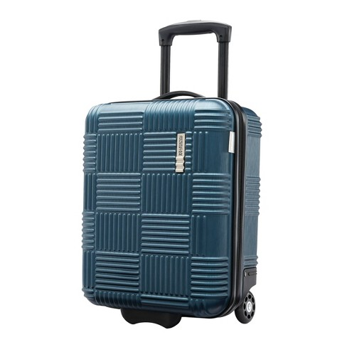 American Tourister Checkered Hardside Underseat Suitcase - image 1 of 4