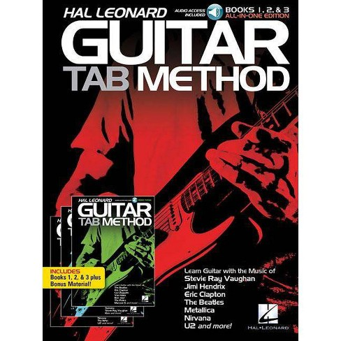 Hal Leonard Guitar Tab Method: Books 1, 2 & 3 All-In-One Edition! - (Mixed media product) - image 1 of 1