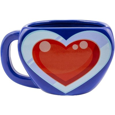 Paladone Products Ltd. The Legend of Zelda Heart Container Scultped Ceramic Coffee Mug