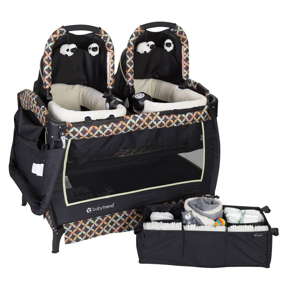 Baby Trend Twins Playard Set Circle Tech