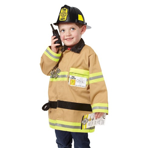 Melissa & Doug® Let's Pretend Firefighter Role Play Set - image 1 of 3