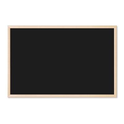 """U Brands 36""""x24"""" Chalkboard Birch MDF Frame"""