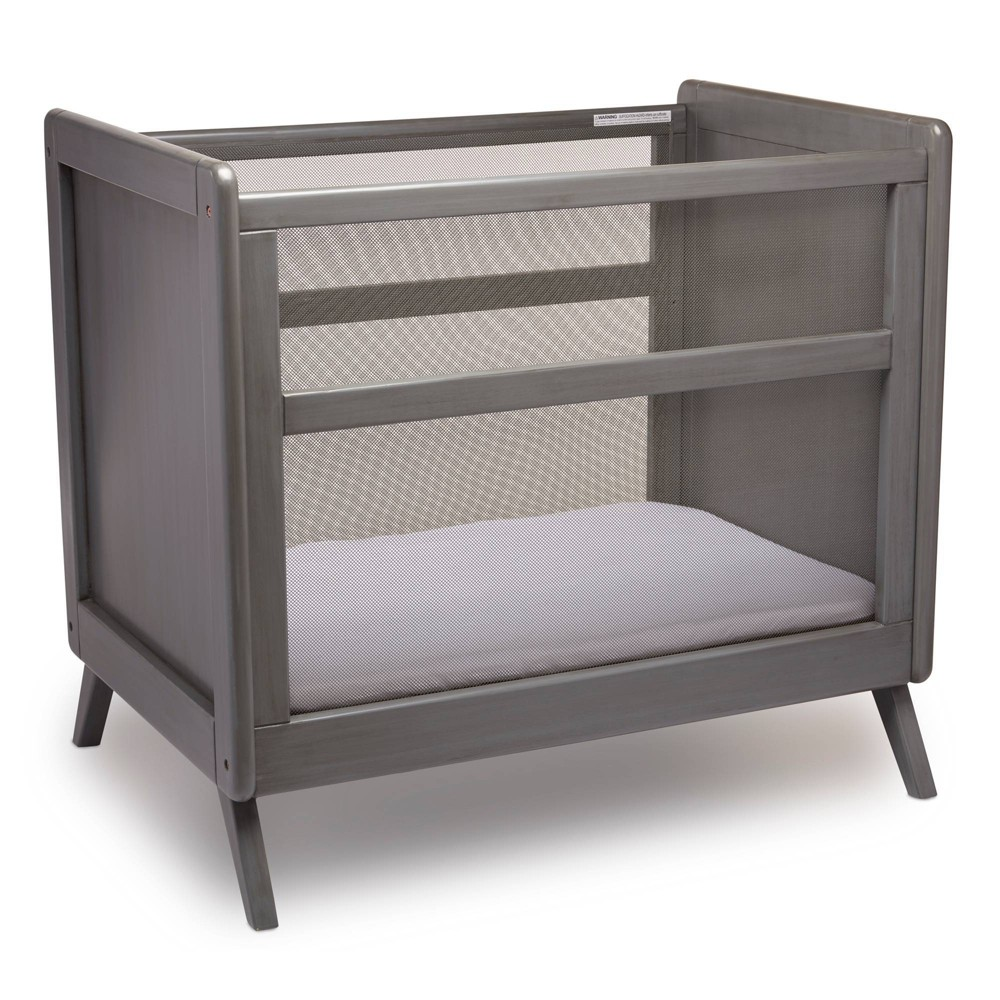 Image of Breathable Mesh Mini Crib