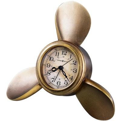 Howard Miller 645525 Howard Miller Propeller Alarm Tabletop Clock 645-525