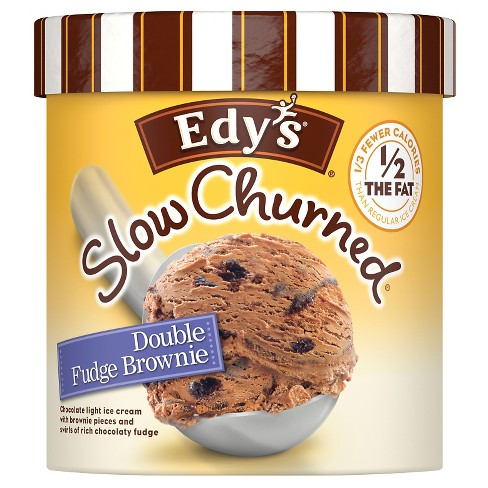 Edy's® Slow Churned Double Fudge Brownie Ice Cream - 48oz - image 1 of 6