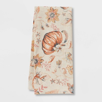 Cotton Pumpkins Kitchen Towel - Threshold™